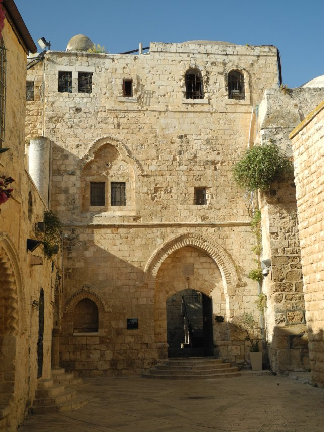 Entrance to Cenacle complex 2