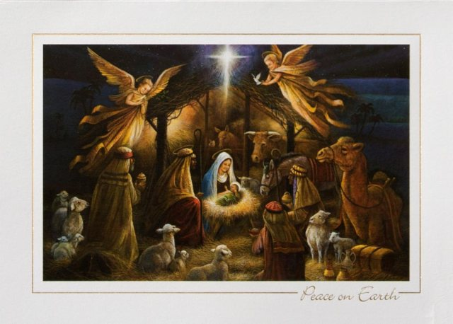 nativity scene - Where Does Christmas Come From